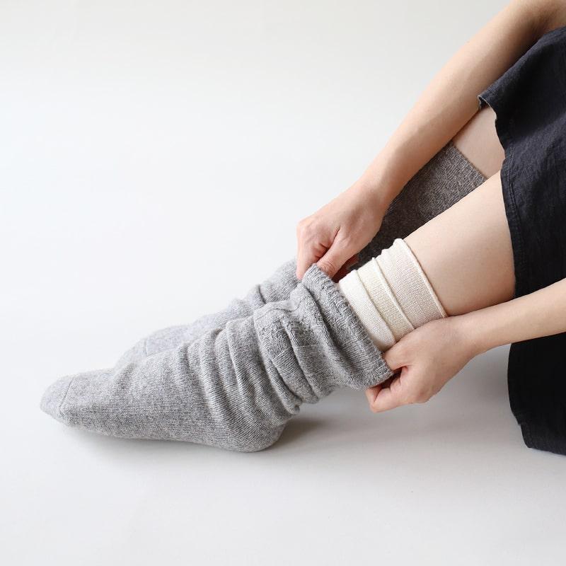 冷え取り靴下・肌着のくらしきぬ
